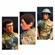 VINTAGE ACTION MAN  - BRITISH INFANTRYMAN EAGLE EYES FIGURE - COMPLETE